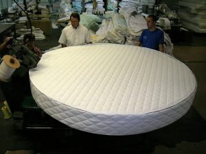 Custom Mattress Manufacturing: Round Mattress