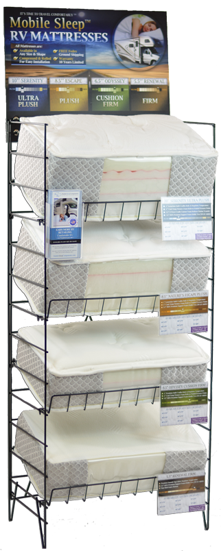 RV Mattress Floor Model Display